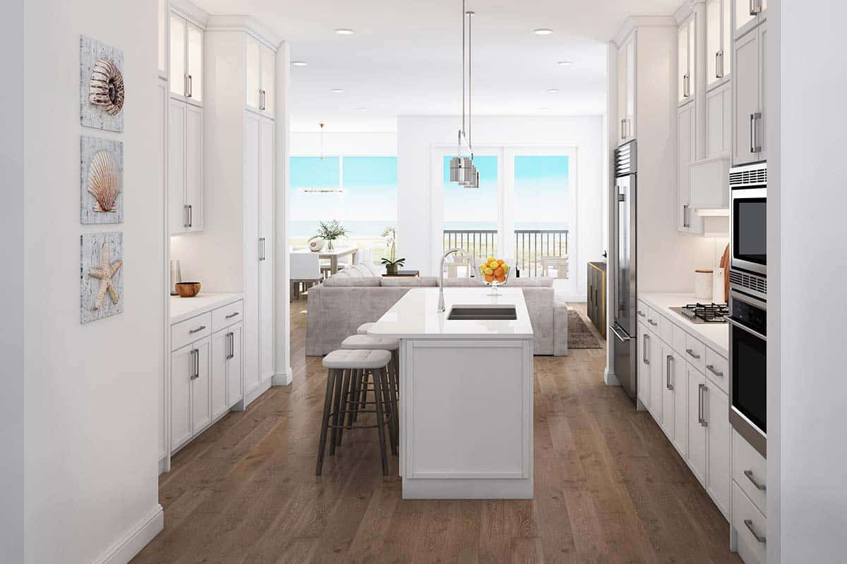 Ocean Jewel Townhomes Kitchen