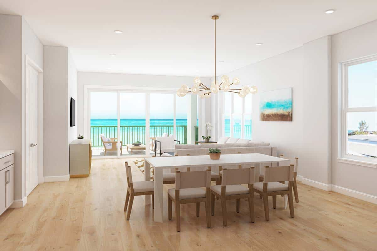 Palm Beach Oceanfront Condominium Dining Area