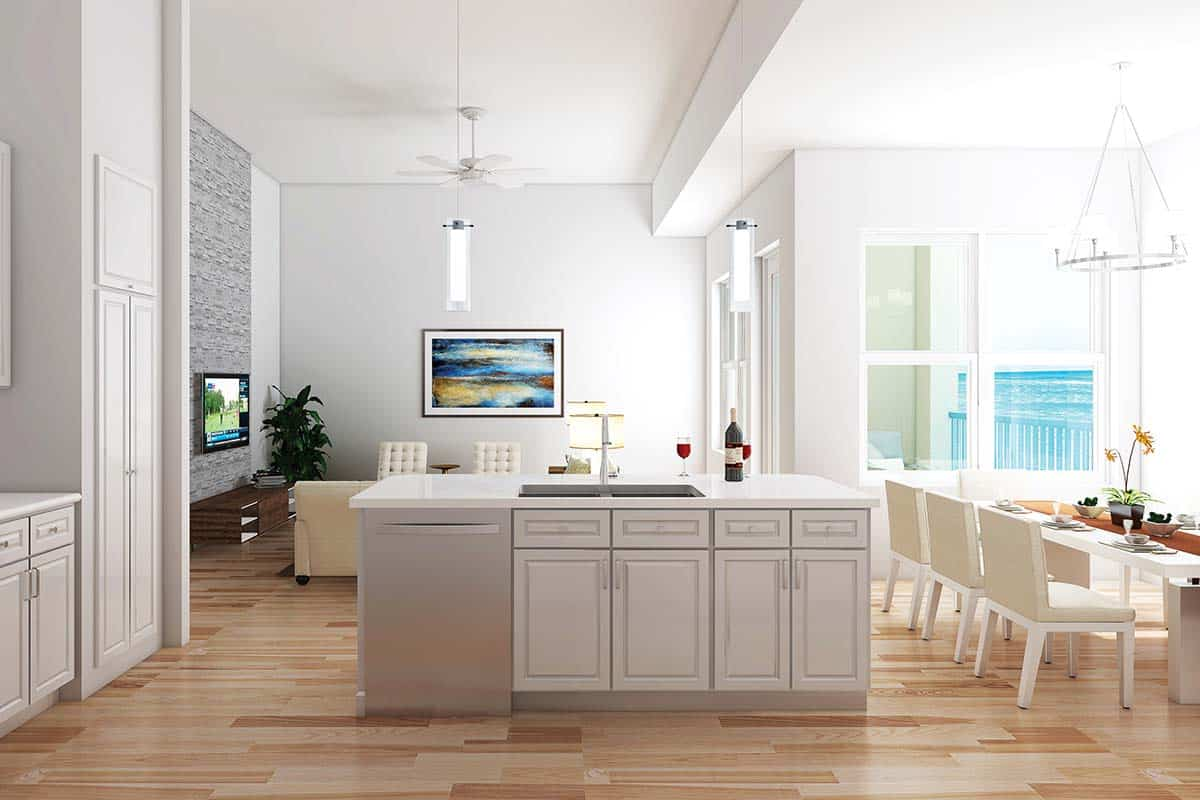 Palm Beach Oceanfront Condominium Kitchen