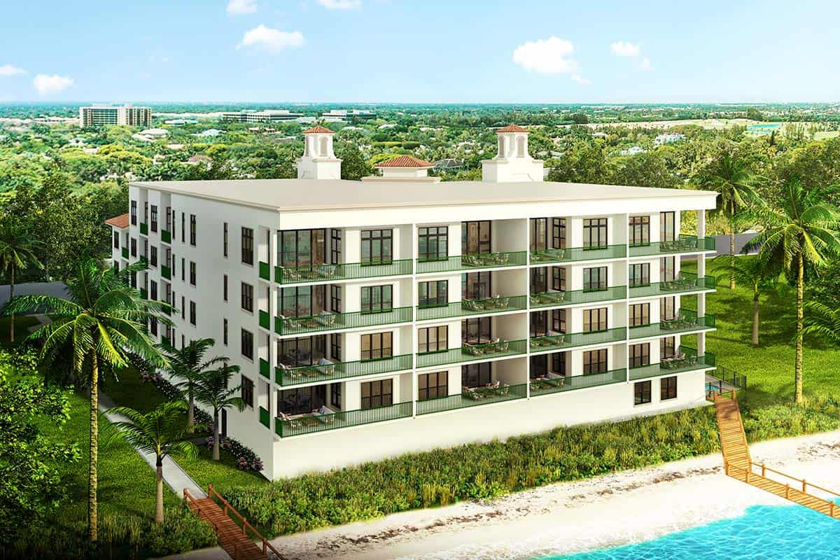Palm Beach Oceanfront rendering